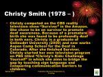 christy smith 1978