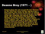 deanne bray 1971