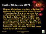 heather whitestone 1973