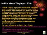 judith viera tingley 1939