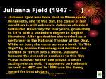 julianna fjeld 1947