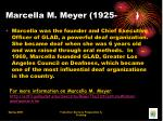 marcella m meyer 1925