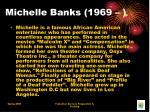 michelle banks 1969