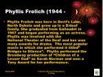 phyllis frelich 1944