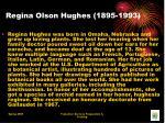 regina olson hughes 1895 1993