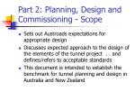 part 2 planning design and commissioning scope