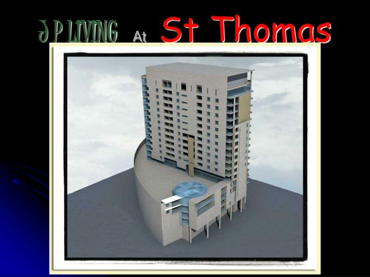 j p living at st thomas n.