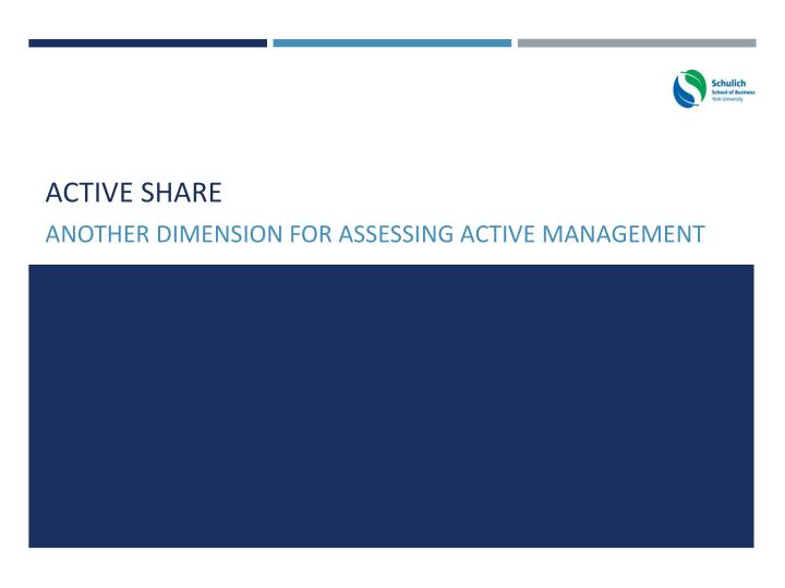 active share n.
