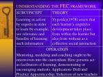 understanding the fec framework