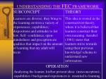 understanding the fec framework1