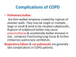 complications of copd