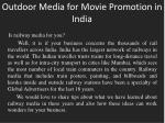 outdoor media for movie promotion in india1
