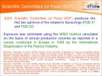 scientific committee on food scf
