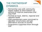 the partnership dynamics