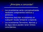 principios a concordar