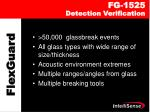 fg 1525 detection verification
