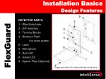 installation basics design features