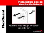 installation basics mounting the detector
