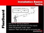 installation basics testing1