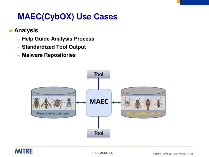 MAEC(CybOX) Use Cases