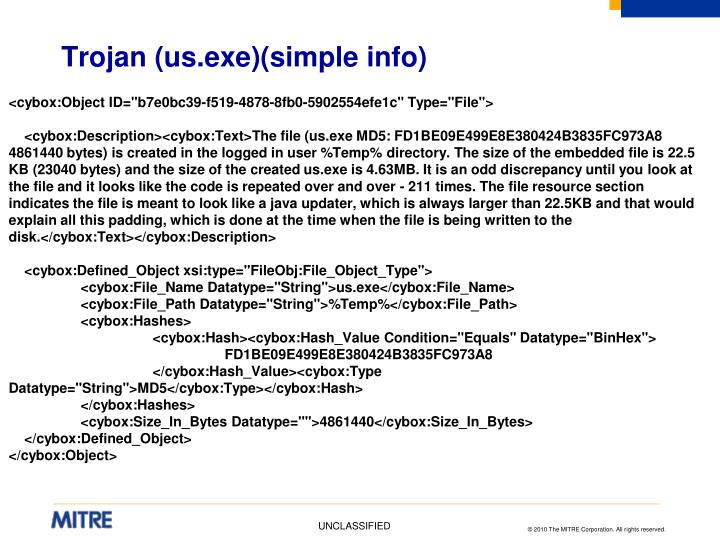 Trojan (us.exe)(simple info)