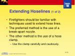 extending hoselines 1 of 2