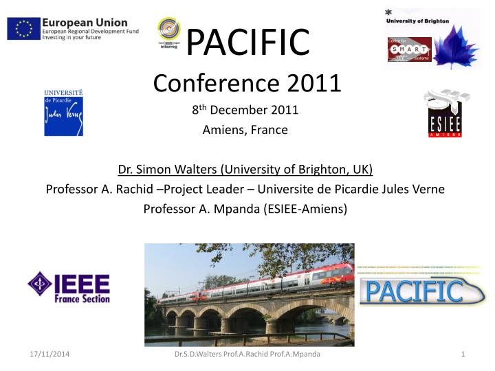 pacific conference 2011 n.
