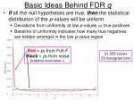 basic ideas behind fdr q