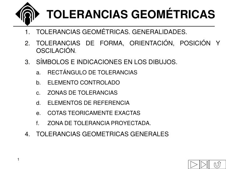 Tolerancias geom tricas