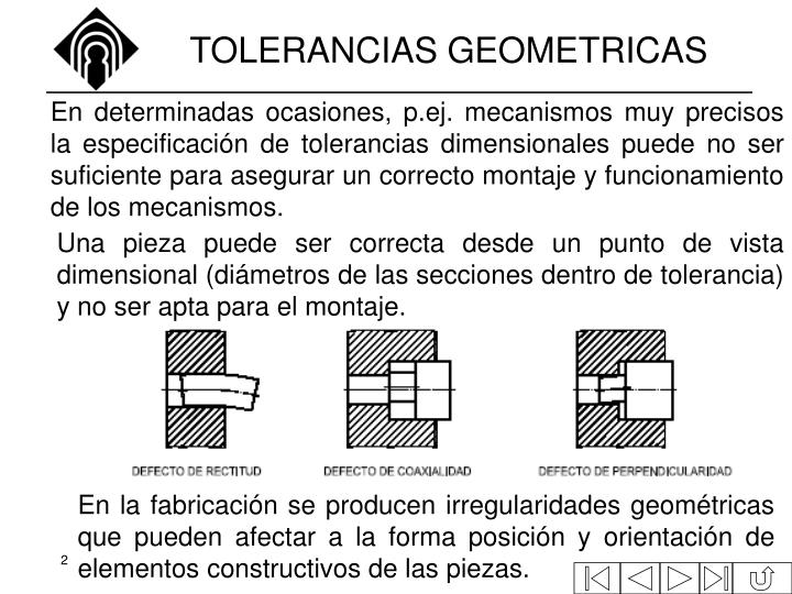 Tolerancias geometricas