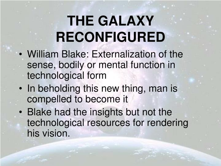 The galaxy reconfigured2