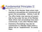 fundamental principles ii