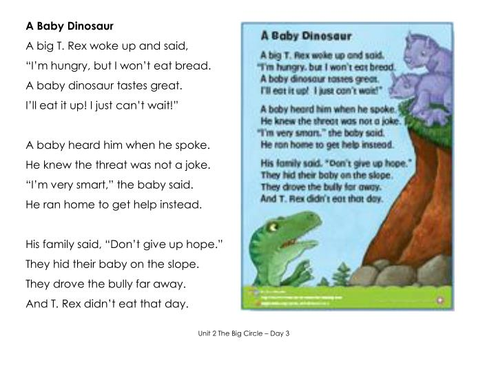 A Baby Dinosaur