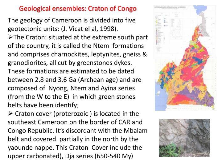 Geological ensembles: