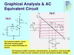 graphical analysis ac equivalent circuit