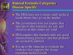 enteral formula categories disease specific3