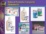 enteral formula categories monomeric1