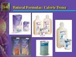 enteral formulas calorie dense1