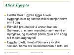 afrek egypta