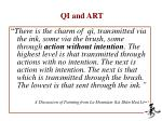 qi and art