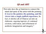 qi and art1