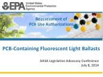 reassessment of pcb use authorizations