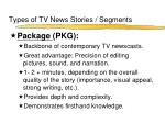 types of tv news stories segments3
