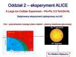 oddzia 2 eksperyment alice
