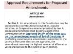 approval requirements for proposed amendments