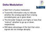 delta modulation1