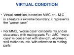 virtual condition