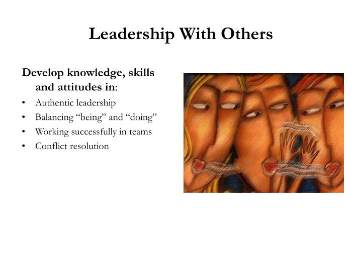 Leadership With Others