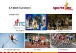 3 1 sport en presteren