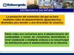 distribuci n de gas natural